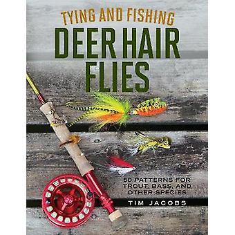 Sitominen ja kalastus Deer hiukset Flies - 50 kuvioita Taimen - basso - ja
