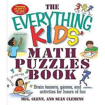 كل شيء للأطفال الرياضيات الألغاز ألعاب كتاب-المضايقون الدماغ----وألف