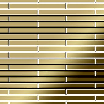 Metal mosaic Titanium ALLOY Avenue-Ti-GM