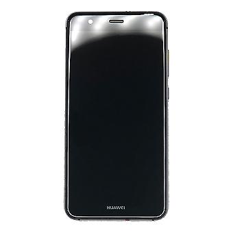 Genuine Huawei P10 Lite - LCD Screen Assembly with Battery - Black - Service Pack - 02351FSG