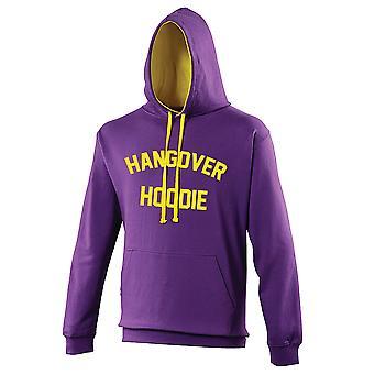 Hangover Hoodie Purple Yellow