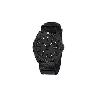 KHS horloges mens watch enforcer Zwarte titanium XTAC KHS. ENFBTXT. NXT1