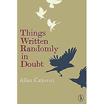 Things Written Randomly in Doubt (Vagabonds)
