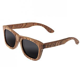 Spectrum Cipes Wood Polarized Sunglasses - Brown/Black