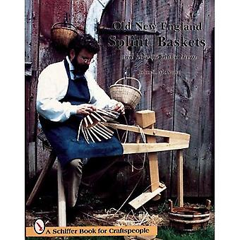 OLD NEW ENGLAND SPLINT BASKETS & HOW TO