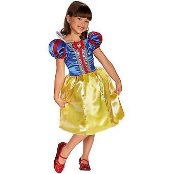 Disfraz de niño de Disney blanco nieve