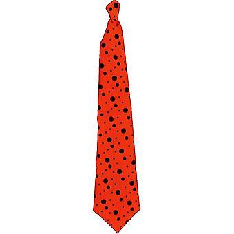Tie Neon Long Orange