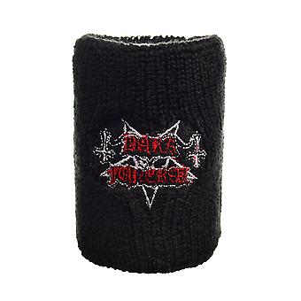 Dark Funeral Logo Embroidered Wrist Sweatband