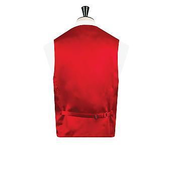 Dobell chłopców czerwona kamizelka Suknie regularny krój