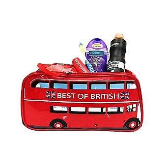 London Bus Design Wash Bag