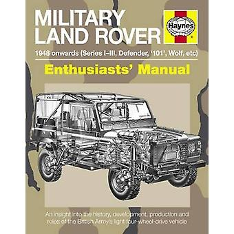 Military Land Rover Manual by Pat Ware - 9781785210969 Book