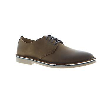 Florsheim Gannon Plain Toe  Mens Brown Casual Lace Up Oxfords Shoes