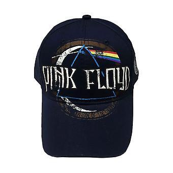 Pink Floyd Dark Side of the Moon Distressed Emblem Baseball Cap