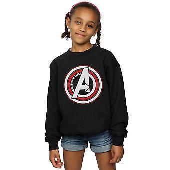 Marvel Girls Avengers Endgame lo que lleva símbolo sudadera
