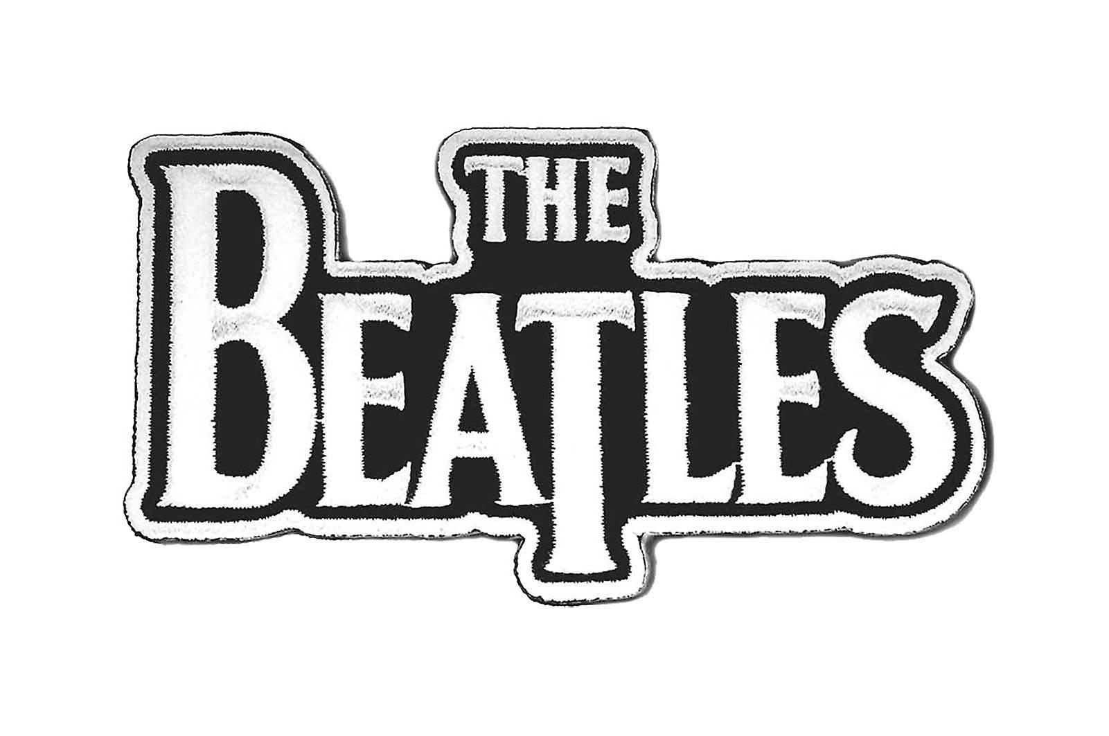 The Beatles Patch Classic Drop T Band Logo White new ...