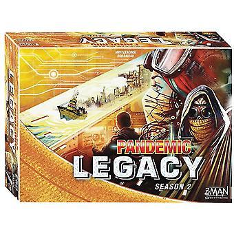 Pandemic Legacy Season 2 Board Game Yellow