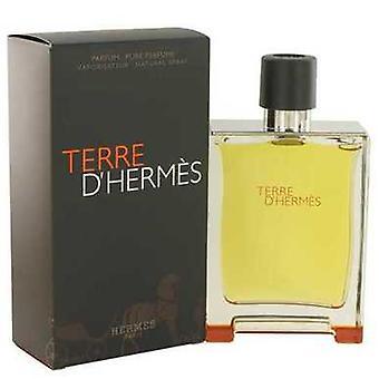 Terre D'hermes door Hermes pure parfum spray 6,7 oz (mannen) V728-515554