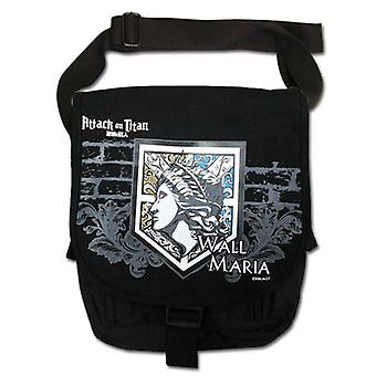 Messenger Bag - Attack on Titan - New Wall Maria Toys Licensed ge82301