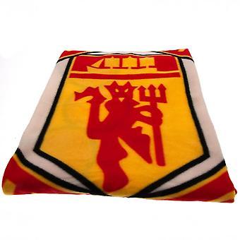 Manchester United officielle PL Fleece tæppe