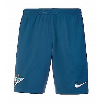 2019-2020 Zenit Nike Home Shorts (Blue)