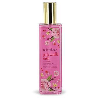 Bodykologia vaaleanpunainen vanilja toive hajusteen sumu spray kehon ologia 544264 240 ml