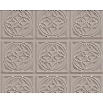 A.S. Creation som Creation Oslo kakel mönster tapet faux effekt Art Deco kök badrum 329803