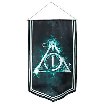 Harry Potter Deathly Hallows Satin Bannière
