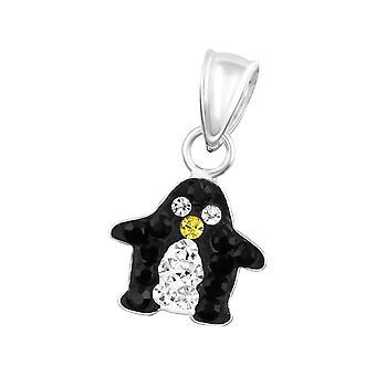 Penguin - 925 Sterling Silver Pendants - W14393x