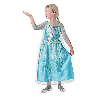 Rubie Elsa Costume Premium (babyer og barn, kostymer)