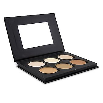 Bellapierre Cosmetics Contour & Highlight Pro Palette (6x Contour & Highlight) - 17.28g/0.6oz