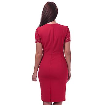 Womens French Connection Whisper Ruth Bodycon Dress In Blazer Red