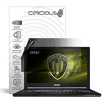 Celicious Privacy Lite 2-Way Anti-Glare Anti-Spy Filter Screen Protector Film Compatible with MSI Workstation WS63 8SJ