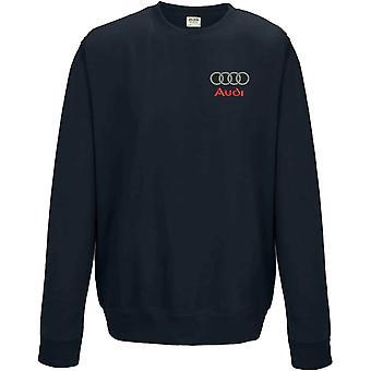 Audi Reifen Motoring gestickt Logo - Sweatshirt