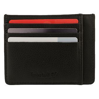 Timberland mannen geval Credit Card Case visitekaartje Case kaart zwart 8220