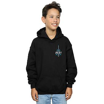 Star Wars The Rise Of Skywalker Jedi Badge Breast Print Boys Hoodie