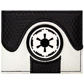 حرب النجوم الإمبراطورية المجرة شعار معرف & بطاقة المحفظة ثنائي الطي