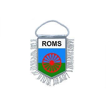 Flag Mini Flag Country Car Decoration Roma Gypsy Gipsy Gypsies