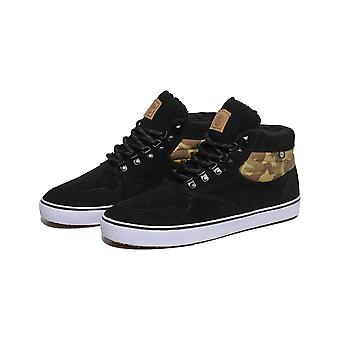 Element Topaz C3 Mid Trainers in Black Camo