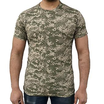 Spel digitale camouflage T-shirts