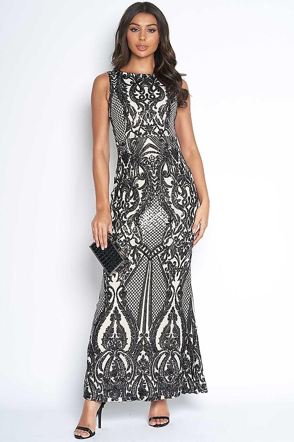 Luxe Sequin Embellised Gown Gg0uun