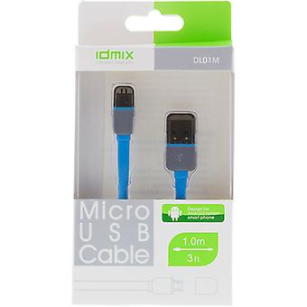 Cable USB 2.0 Tipo A-tipo Micro B, 1m