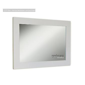 Signature Overmantle Mirror (Hangs Landscape & Portrait)-Baumhaus