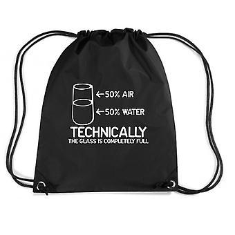 Black backpack trk0264 glass full