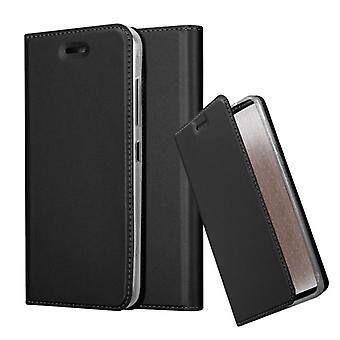 Cadorabo Hülle für HTC Desire 10 Pro Case Cover - Handyhülle mit Magnetverschluss, Standfunktion und Kartenfach – Case Cover Schutzhülle Etui Tasche Book Klapp Style