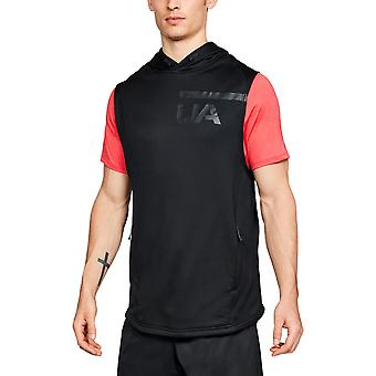 Under Armour Mens Tech Terry Sleeveless Fitted Hoody Hoodie