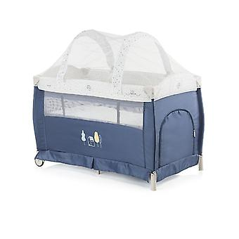 Chipolino travel bed Bella 2018 side entrance, mosquito protection, wrap ping pad
