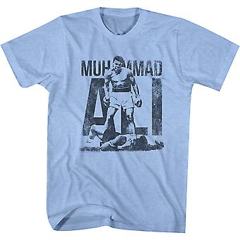 American Classics Muhammad Ali Victory T-Shirt - Light Blue Heather