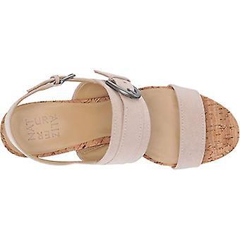Naturalizer Womens Kaylee Suede Peep Toe Casual Slingback Sandals
