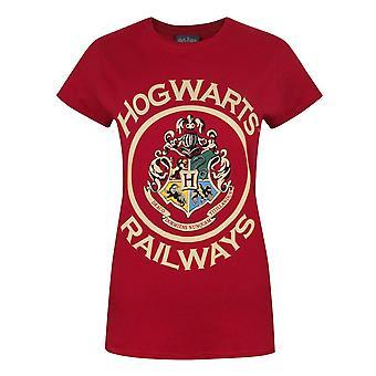 Harry Potter Hogwarts Railways Women's T-Shirt