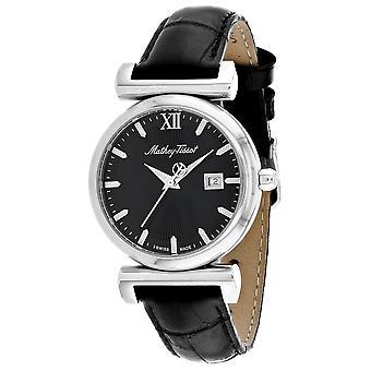 Mathey Tissot Women's Black Dial Watch - D410ALN